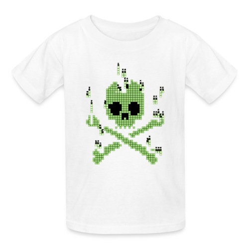 Digital Jolly Roger - Kids' T-Shirt