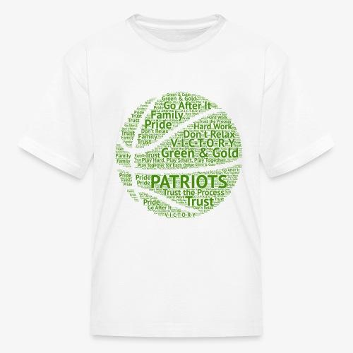 Pats Basketball Green - Kids' T-Shirt