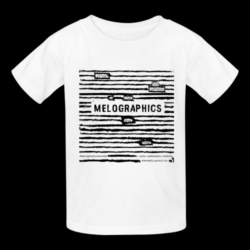 MELOGRAPHICS | Blackout Poem - Kids' T-Shirt