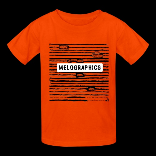MELOGRAPHICS | Blackout Poem - Kids' T-Shirt