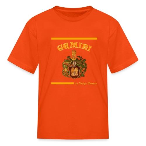 GEMINI ORANGE - Kids' T-Shirt