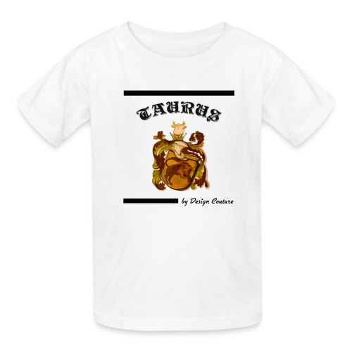 TAURUS BLACK - Kids' T-Shirt