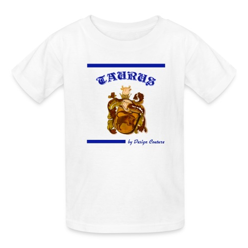TAURUS BLUE - Kids' T-Shirt