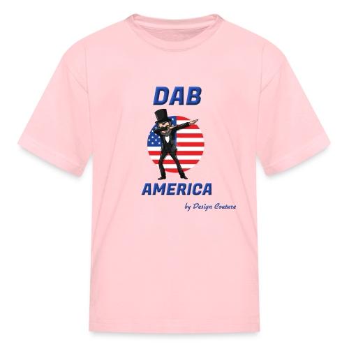 DAB AMERICA BLUE - Kids' T-Shirt