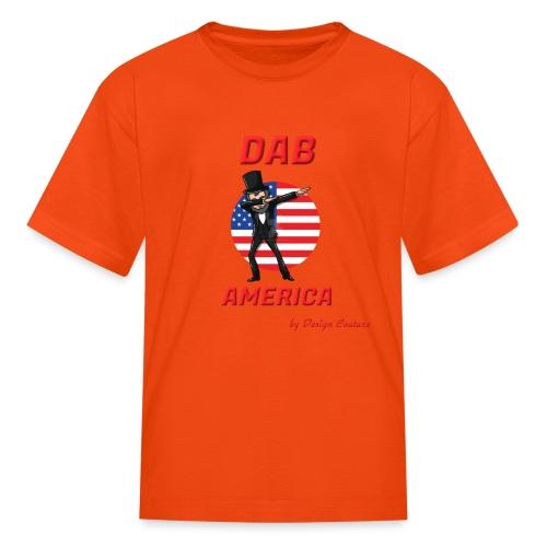 DAB AMERICA RED - Kids' T-Shirt