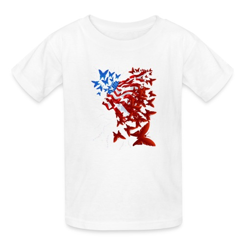 The Butterfly Flag - Kids' T-Shirt