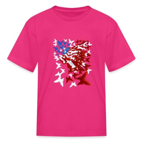 The Butterfly Flag - Kids' T-Shirt