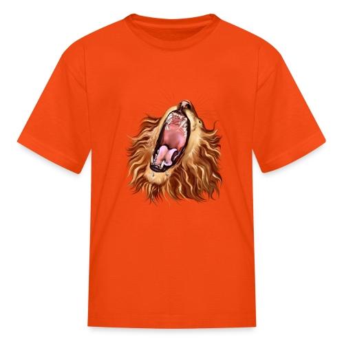 Lion's Face - Kids' T-Shirt