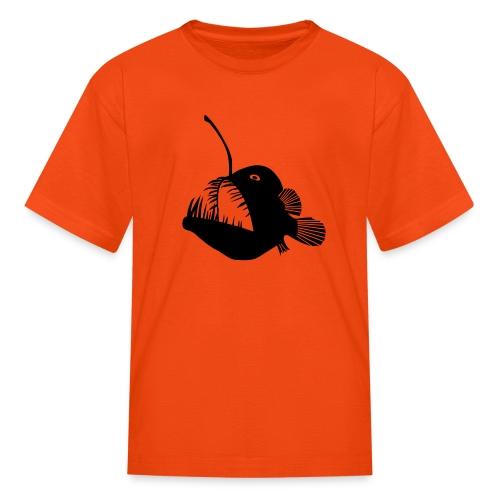 anglerfish frogfish sea devil deep sea angler - Kids' T-Shirt