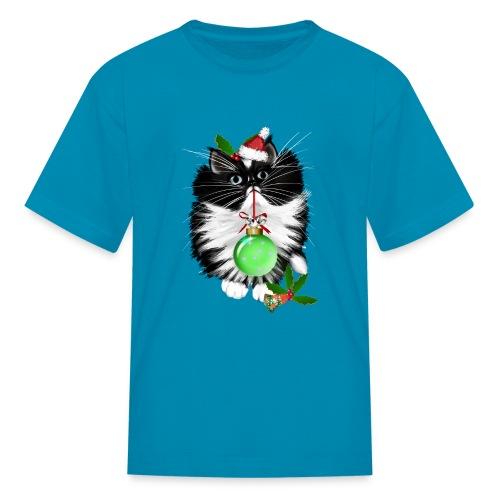 A Tuxedo Merry Christmas - Kids' T-Shirt