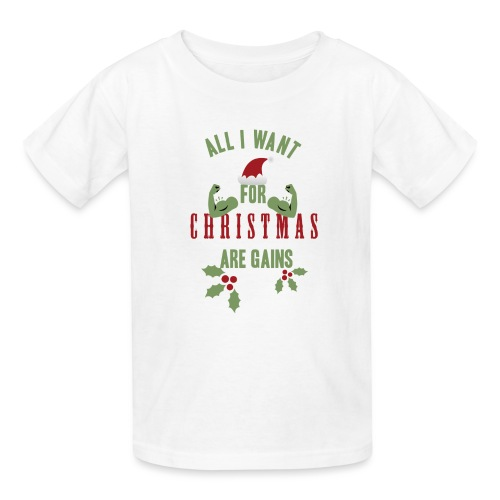 All i want for christmas - Kids' T-Shirt