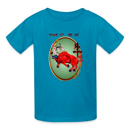 The Red Ox Oval - Kids' T-Shirt