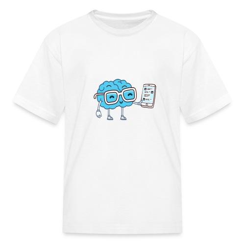 Cartoon Brain - Kids' T-Shirt
