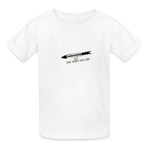 The real 21. Easy Sport! Easy Life! - Kids' T-Shirt