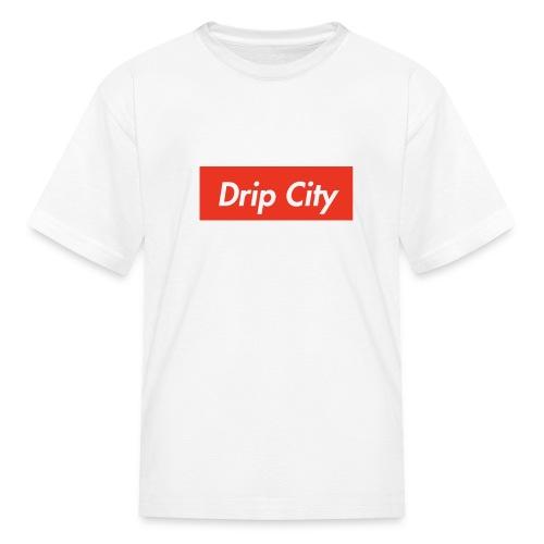 Drip City - Supreme tees - Kids' T-Shirt