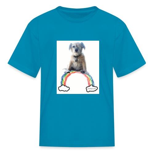 Chompo on the Rainbow Bridge - Kids' T-Shirt