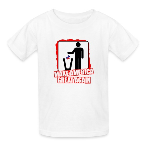 MAGA TRASH DEMS - Kids' T-Shirt