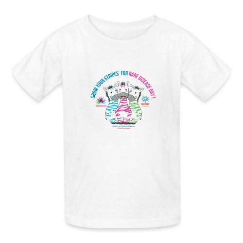 Show Your Stripes for Rare Disease Day! - Kids' T-Shirt