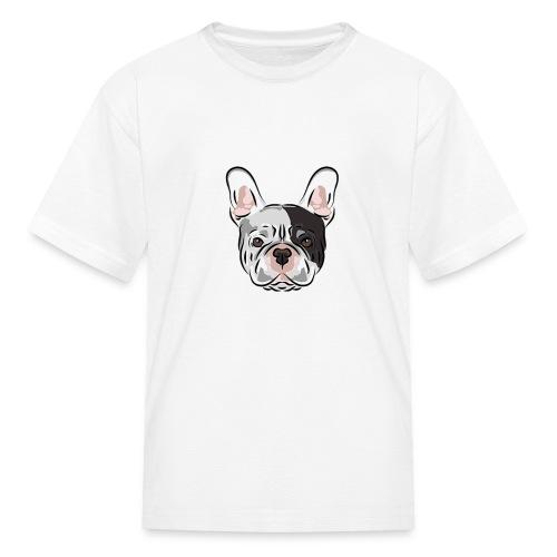 pngtree french bulldog dog cute pet - Kids' T-Shirt