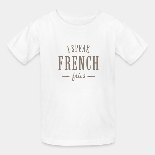 french fries - Kids' T-Shirt