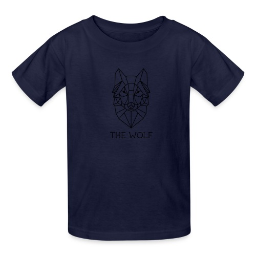 The Wolf - Kids' T-Shirt