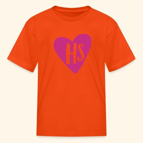 HS Heart Hoodie - Kids' T-Shirt