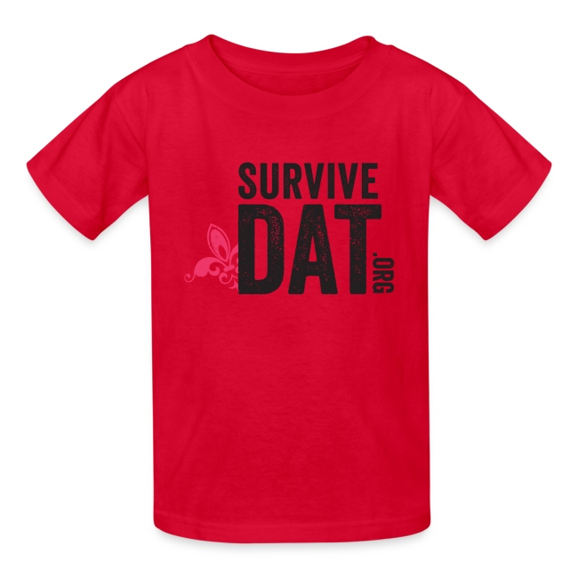 survive dat final logo stacked org color notag out