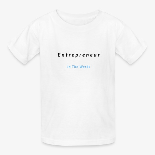 Entrepreneur In The Works - Kids' T-Shirt
