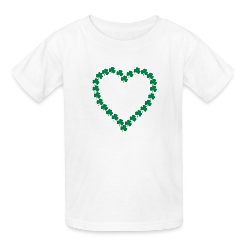 shamrock heart - Kids' T-Shirt