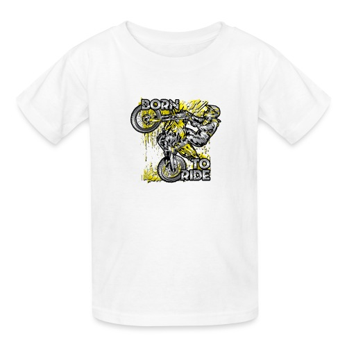 Born To Ride Motorcycles - Kids' T-Shirt