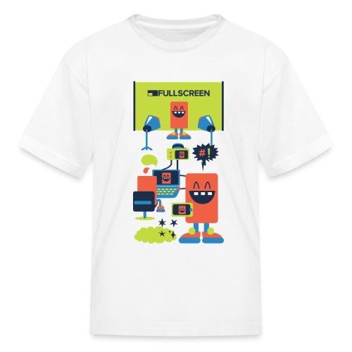 robots - Kids' T-Shirt