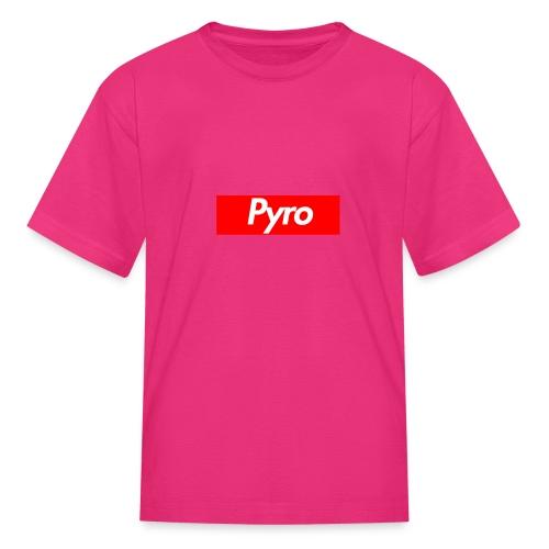 pyrologoformerch - Kids' T-Shirt