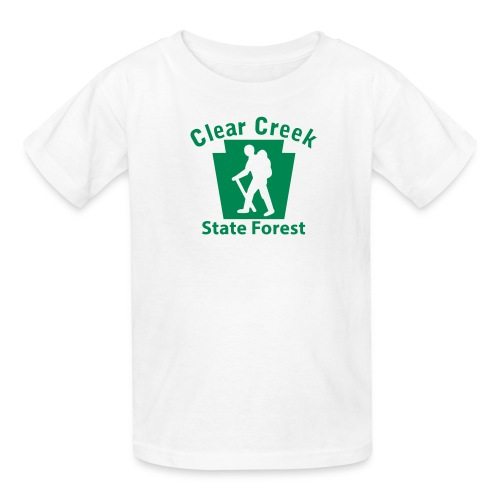 Clear Creek State Forest Keystone Hiker male - Kids' T-Shirt