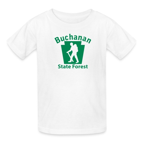 Buchanan State Forest Keystone Hiker male - Kids' T-Shirt