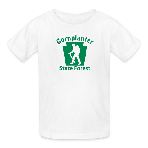 Cornplanter State Forest Keystone Hiker male - Kids' T-Shirt