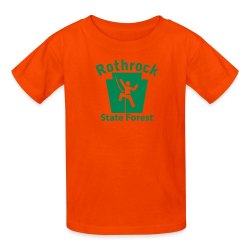 Rothrock State Forest Keystone Climber - Kids' T-Shirt