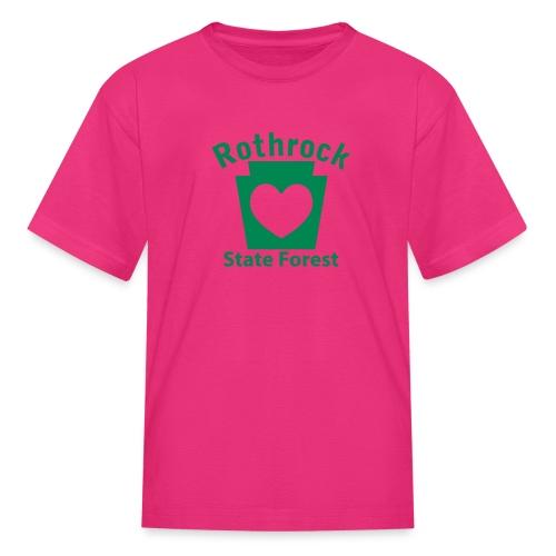 Rothrock State Forest Keystone Heart - Kids' T-Shirt