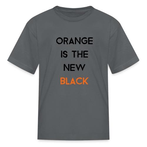 (orange2) - Kids' T-Shirt