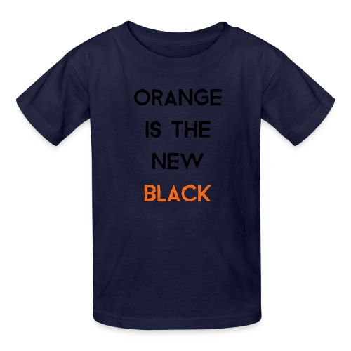 (orange2) - Kids' T-Shirt