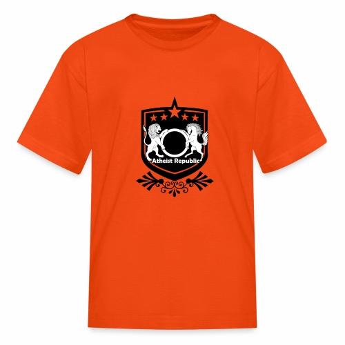 Atheist Republic Logo - Starred Badge - Kids' T-Shirt