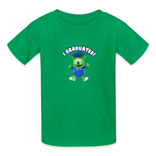 I Graduated! Gummibar (The Gummy Bear) - Kids' T-Shirt