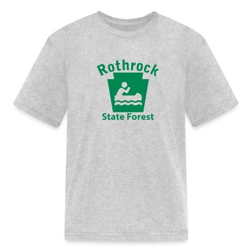 Rothrock State Forest Boating Keystone PA - Kids' T-Shirt