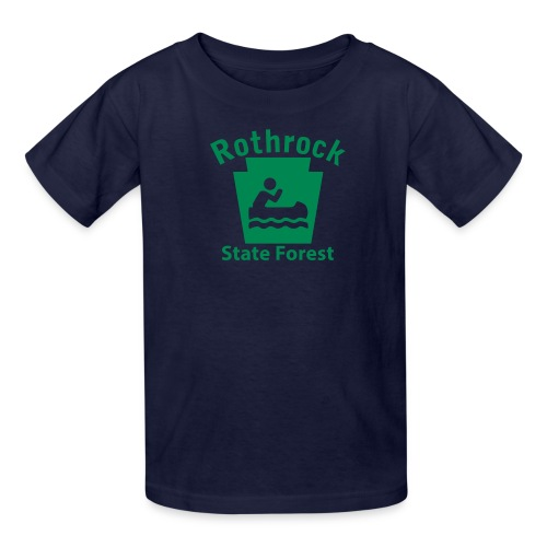 Rothrock State Forest Boating Keystone PA - Kids' T-Shirt