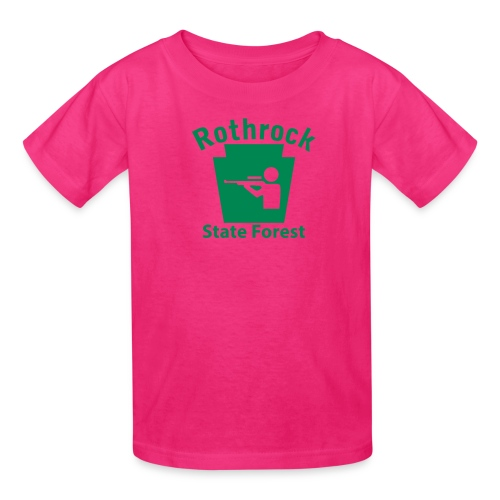Rothrock State Forest Hunting Keystone PA - Kids' T-Shirt