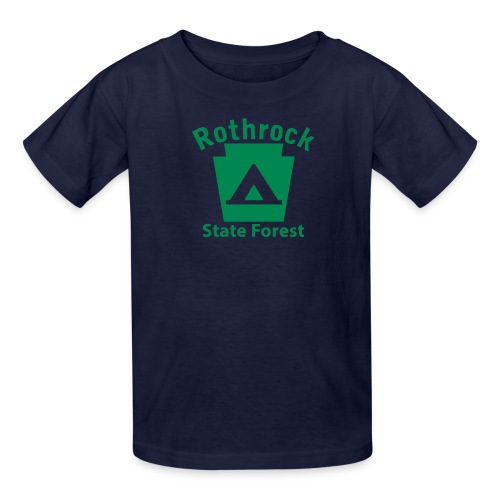 Rothrock State Forest Camping Keystone PA - Kids' T-Shirt