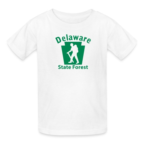 Delaware State Forest Keystone Hiker male - Kids' T-Shirt