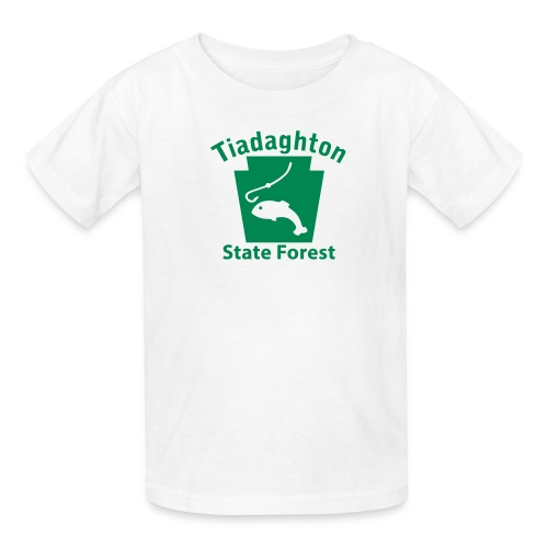 Tiadaghton State Forest Fishing Keystone PA - Kids' T-Shirt