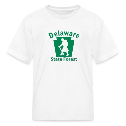 Delaware State Forest Keystone Hiker female - Kids' T-Shirt