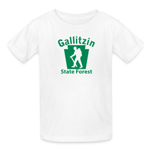 Gallitzin State Forest Keystone Hiker male - Kids' T-Shirt