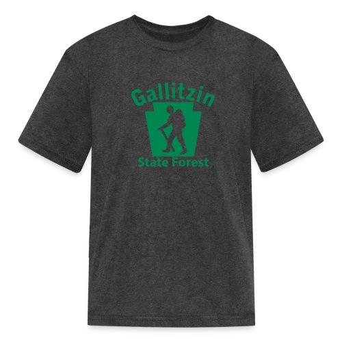 Gallitzin State Forest Keystone Hiker male - Kids' T-Shirt